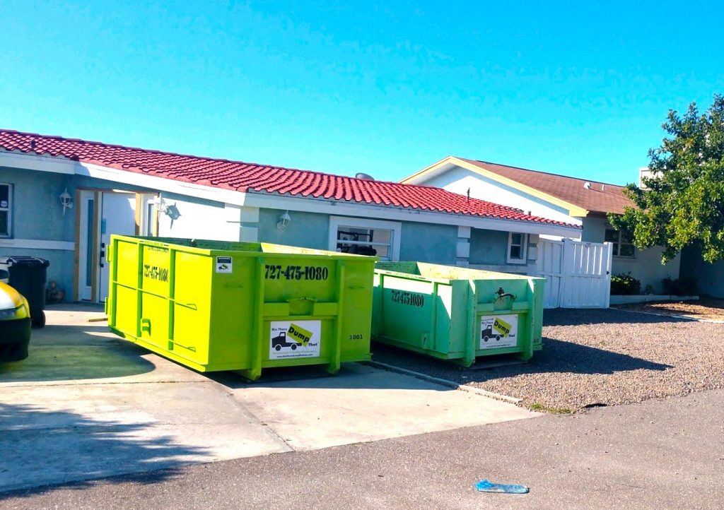 dumpsters for junk