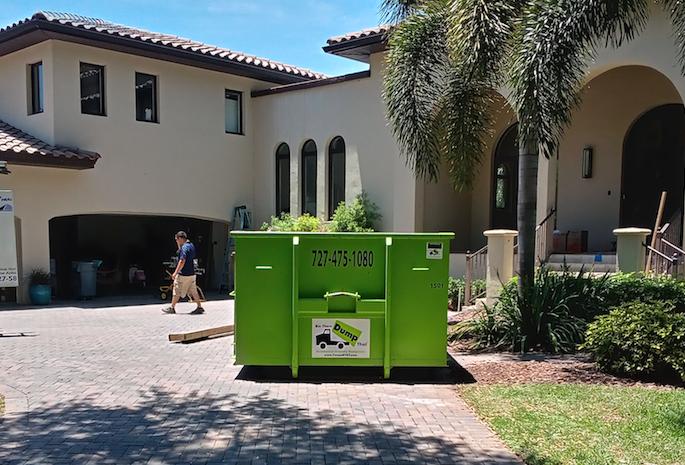 dumpster rentals in Crystal Springs, Florida