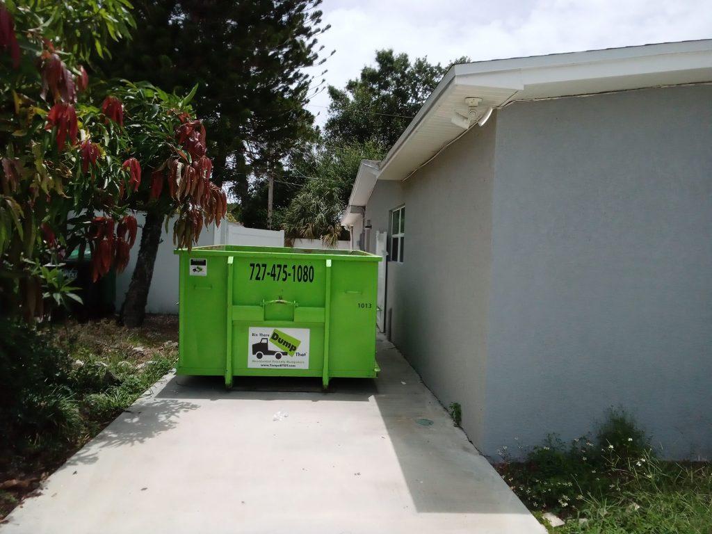 Wesley Chapel dumpster rental