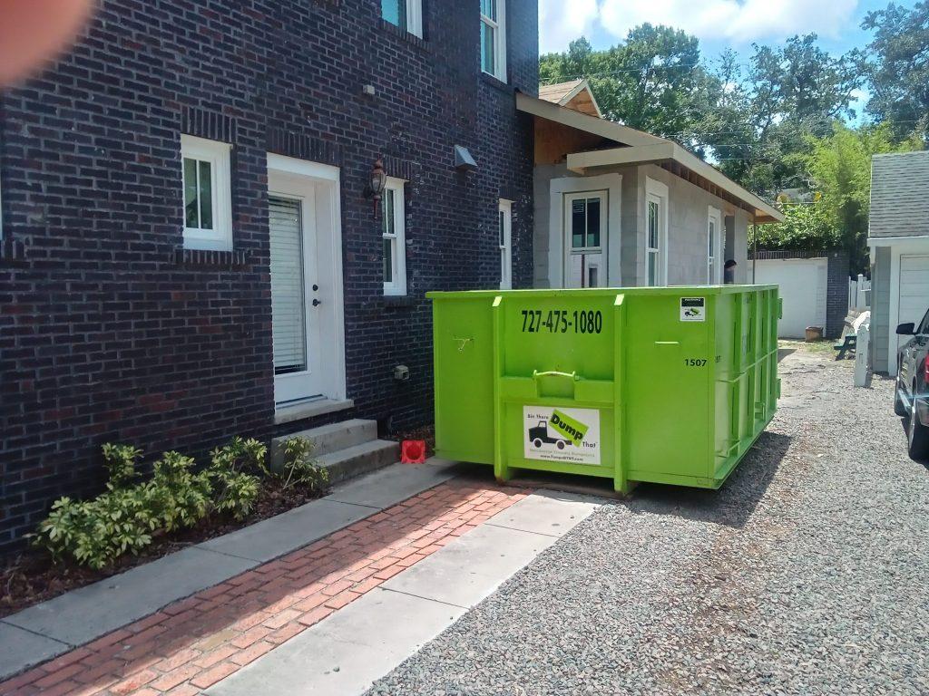 dumpster sharing Tampa Bay