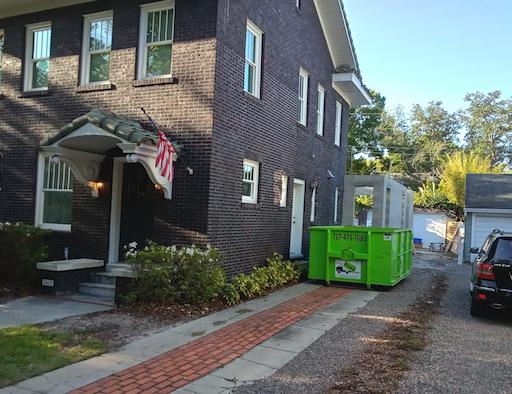 Hudson dumpster rental