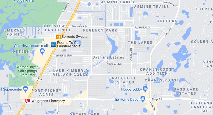 Jasmine Estates dumpster rental