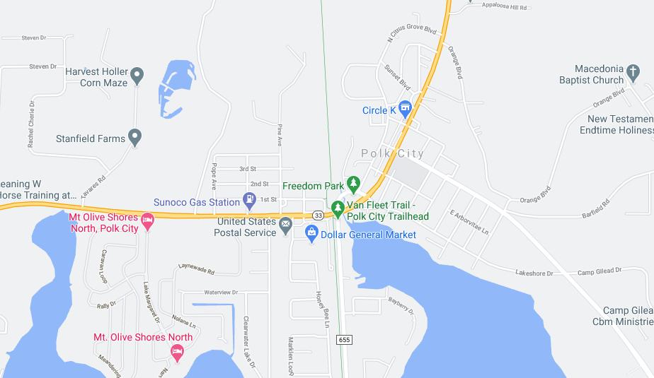 Polk City dumpster rental